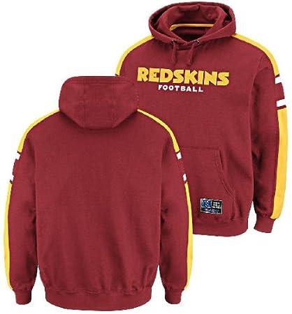 53a08d12 Amazon.com : Washington Redskins Passing Game III Hooded Sweatshirt ...