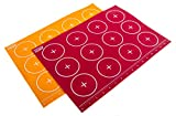 silicon cookie sheet liner - Kitchen + Home Silicone Baking Mats - Set of 2 Non-stick, BPA Free Food Grade Silicone Mat Liners for Half-Size Cookie Sheet with Measurements