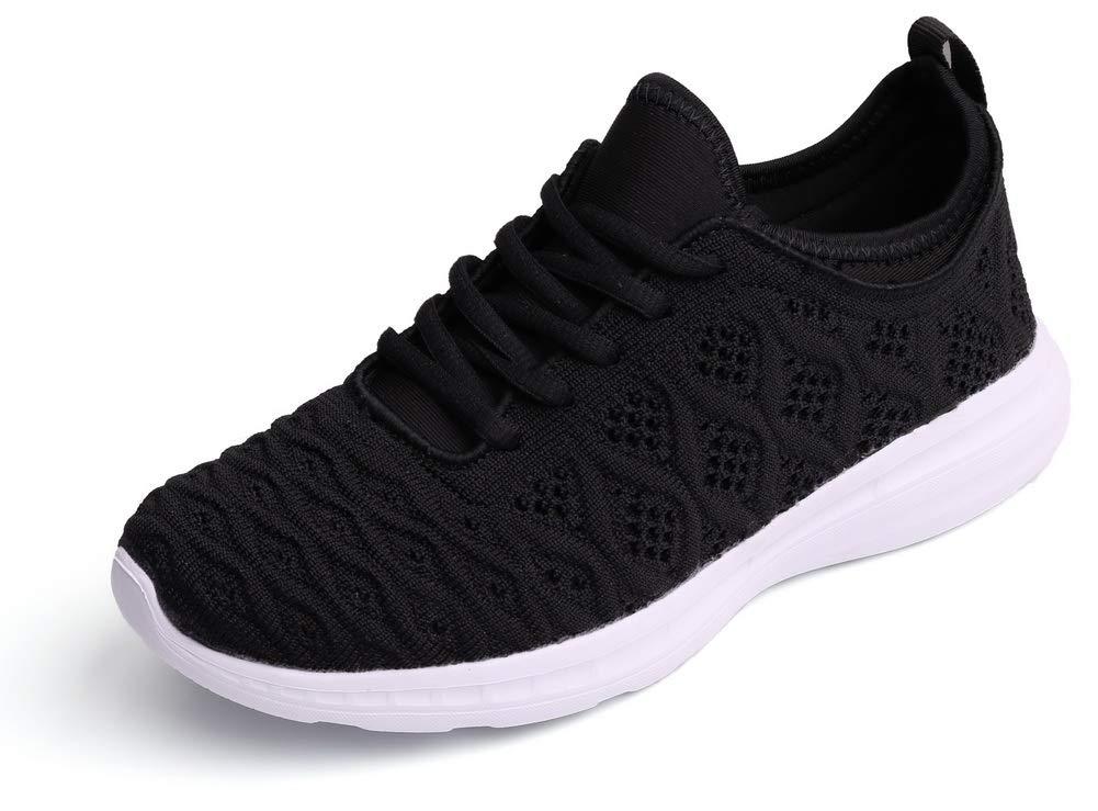 buy online 6cef3 5d92e SEECEE Damen Atmungsaktiv Turnschuhe Sportschuhe Sneaker Ros