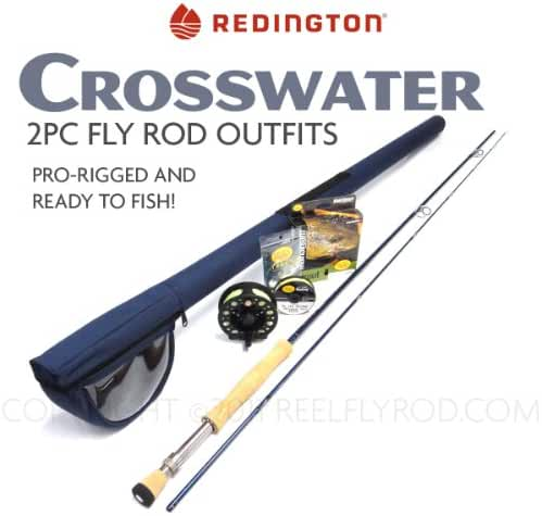 Redington Crosswater 990-2 Fly Rod Outfit (9'0