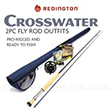 Redington Crosswater 890-2 Fly Rod Outfit (9'0'', 8wt, 2pc)