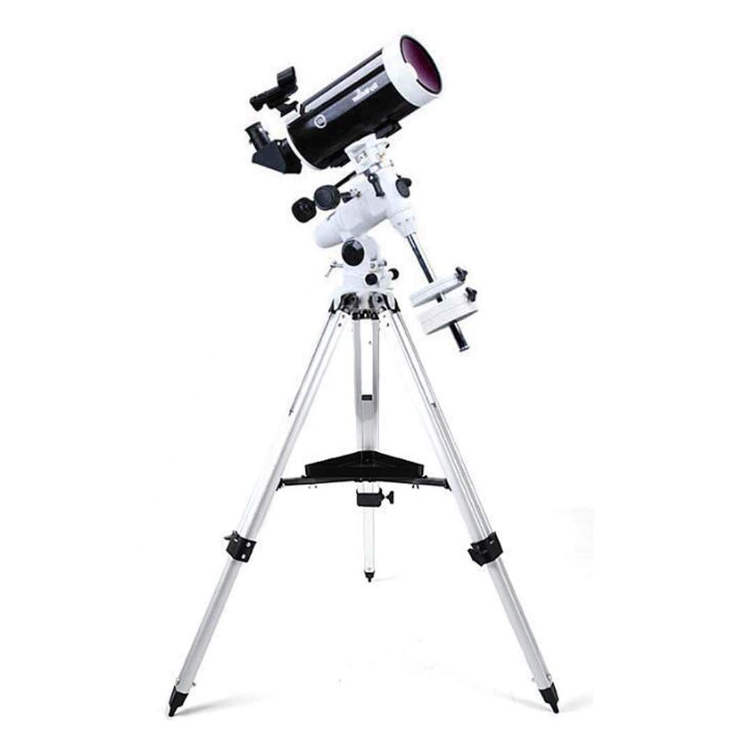GGPUS Refractor Telescope with Tripod & Equatorial Mount, Portable Telescope for Astronomy Beginners, Travel Scope, Focal Length 1500Mm, Maximum Magnification 254X by GGPUS