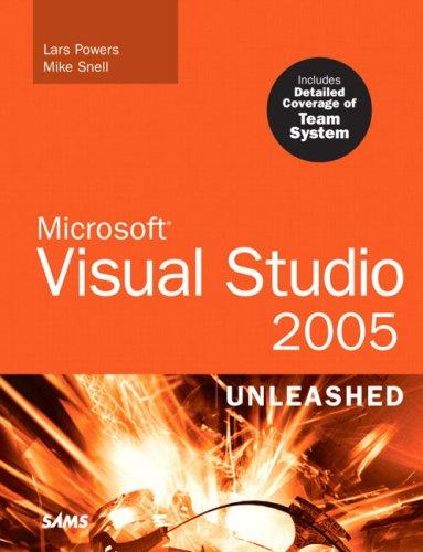Microsoft Visual Studio 2005 Unleashed PDF