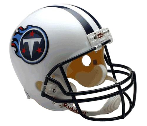 NFL Tennessee Titans Deluxe Replica Full Size Football Helmet ()