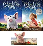 Charlotte's Web (2006) Full Screen DVD, Original Novel by E. B. White & Bookmark Bundle Target Exclusive Set