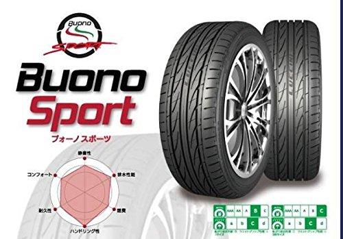 【4本セット】LUCCINI(ルッチーニ) Buono Sport (ヴォーノスポーツ) 215/55R16 97V B01G35W85A
