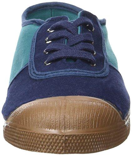 Bensimon Old School Colored, Zapatillas de Baloncesto para Mujer azul (Marine)