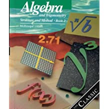 Amazon trigonometry mathematics books algebra and trigonometry structure and method book 2 fandeluxe Images