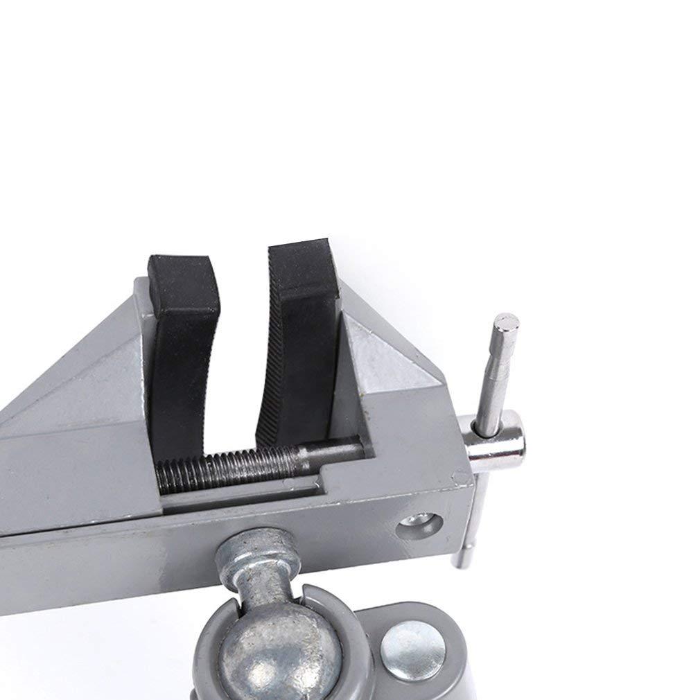 Sunnyday 70 MM Mini Table Table Pince Vise Table Vis /Étau /Étau /Étau De Bureau /Étau De Bureau pour DIY Artisanat Moule Fixe Outil De R/éparation