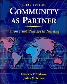 Book Community As Partner: Theory and Practice in Nursing