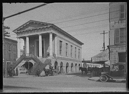 Photo: Old market,building,Charleston,South Carolina,SC,Detroit Publishing - Market Sc Charleston