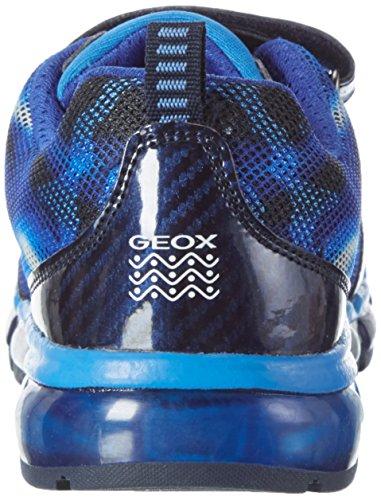 Geox Android a, Zapatillas Para Niños Azul (Navy/royalc4226)
