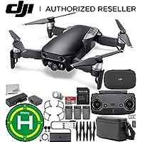 DJI Mavic Air Drone Quadcopter FLY MORE COMBO (Onyx Black) Landing Pad Starters Bundle