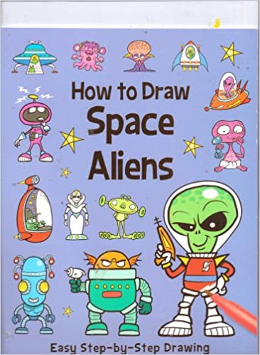 How To Draw Space Aliens Easy Step By Step Drawing Top That