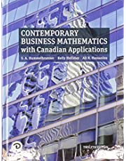 Contemporary Business Mathematics with Canadian Applications (12th Edition)