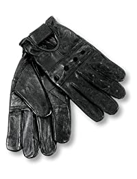 Interstate Leather Men's Basic Driving Gloves (Black, Small)