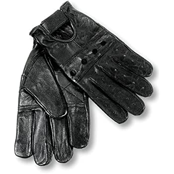 Interstate Leather Men's Basic Driving Gloves (Black, Large)