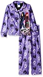 Disney Big Girls' Descendants 2-Piece Pajama Coat Set, Purple, 8