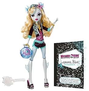 Monster High Lagoona Blue Doll and Neptuna Pet Piranha