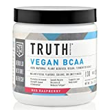 Truth Nutrition Naturally Fermented Vegan BCAA Powder – Red Raspberry | 30 Servings | Plant Based, Non-GMO, Gluten Free | Branched Chain Amino Acids | Pre/Post Workout Supplement Review