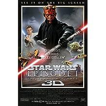 "CGC Huge Poster - Star Wars Episode I The Phantom Menace 3D Moive Poster - STW101 (24"" x 36"" (61cm x 91.5cm))"