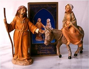 Fontanini 5 Journey To Bethlehem 2PC Set