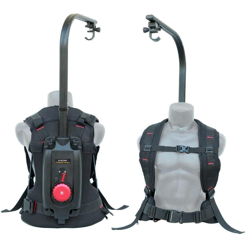 FLYCAM Flowline Master Professional Stabilizing Body Support for Camera Gimbals (4-12kg/9-27lb)| Stabilizer Vest for Video Film Cinema Camera Camcorder | For RED ARRI Sony Nikon Camera (FLCM-FLN-MSTR) by FLYCAM