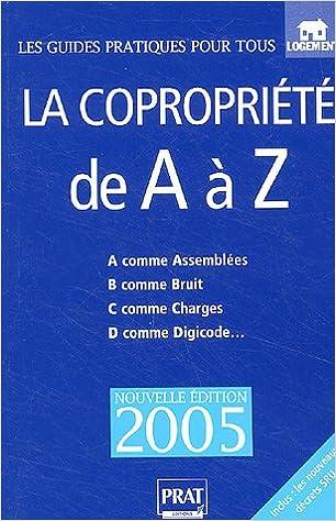 Téléchargement La copropriété de A à Z pdf, epub