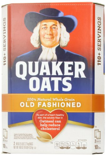 Quaker Old Fashioned Oatmeal, 10 Pound