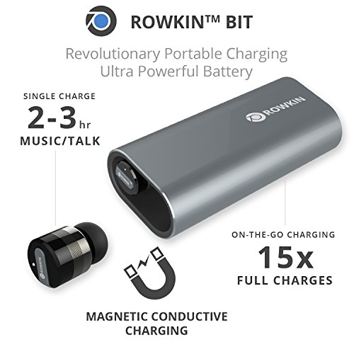 rowkin bit charge stereo true wireless earbuds w portable import it all. Black Bedroom Furniture Sets. Home Design Ideas