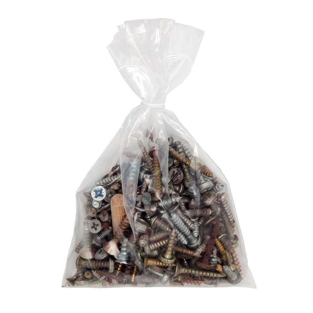 25 sachets plastiques sans fermeture 800 x 1100 mm 80 microns sac demballage ouvert sachet Thermosoudable compatible alimentaire grand sachet de conditionnement emballage stockage