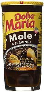 Dona Mara Mole Sauce 8.25 Ounce Jar