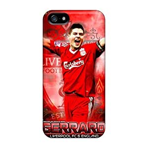 Case Cover For HTC One M8 The Football Player Of Liverpool Steven Gerrard Pattern
