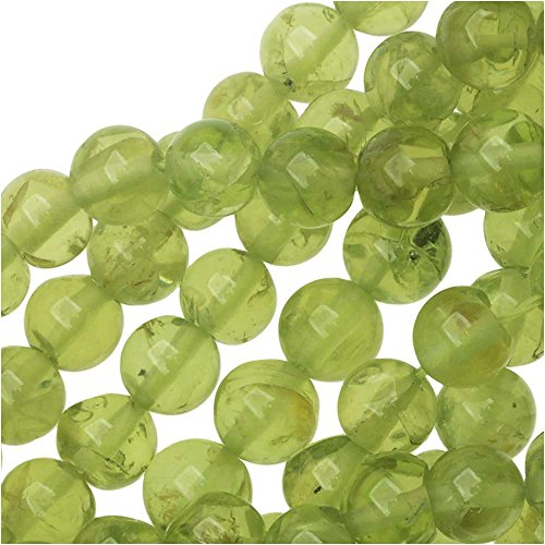 Beadaholique Green Peridot Gems Round 4mm/14.5 Inch Strand