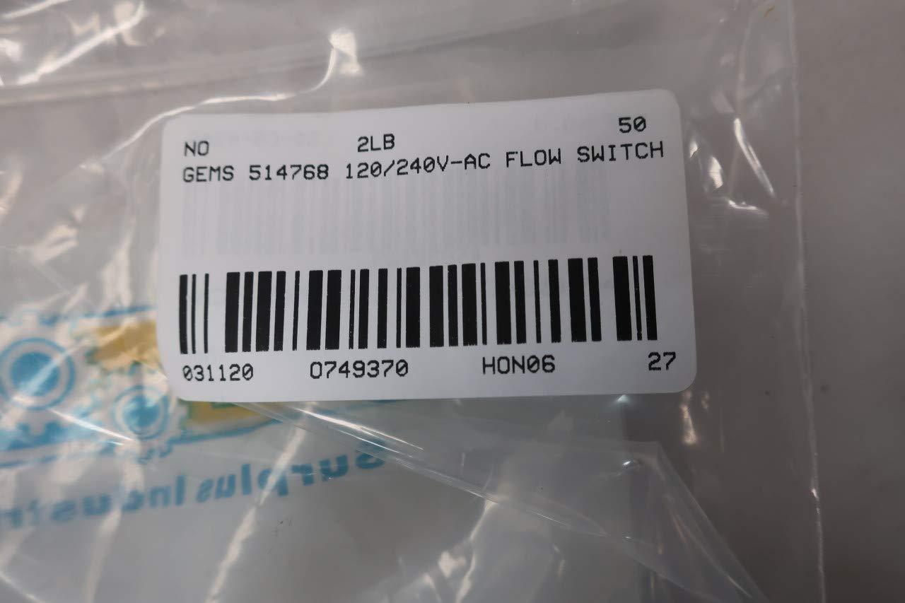 GEMS FS-925 Flow Switch 120//240V-AC