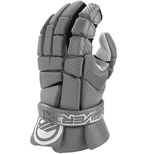 Maverik MX Lacrosse Gloves-Gray-LG/13'