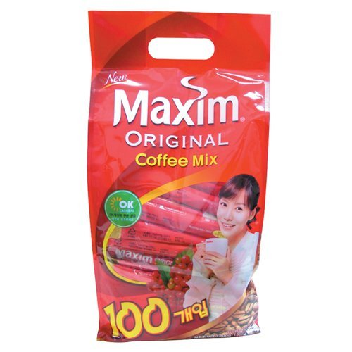 [BOX sale] Maxim original mix 100 wrapped X 8 pieces Korea food and beverage / Korea tea Maxim by Maxim
