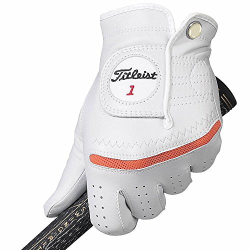 Titleist Perma Regular Soft Golf Gloves 2015 Women Right Coral Medium