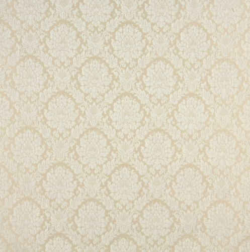 Ivory White Floral Heirloom Vintage Damask Jacquard Upholstery Fabric by the yard