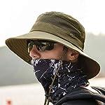 anaoo Chapeau Homme, Chapeau de Soleil, Chapeau Eté Pliable, Casquettes Visières Anti-UV, Séchage Rapide et Protection… 10