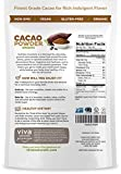 Viva Naturals Cacao Powder, 2 LB - From Superior Criollo Beans