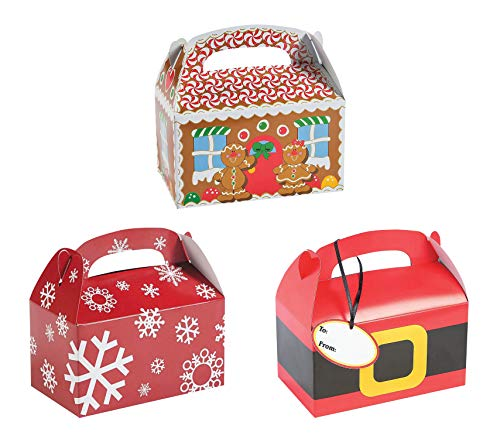 - Christmas Cookie Gift Boxes for Cookie Exchange, Party Favors, or Treats - Set of 36