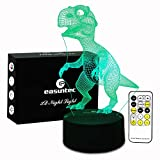 Night Light Dinosaur 7 Colors Change with Remote Control Good Night Light for Nursery or Kids Bedroom by Easuntec (Dinosaur) Review
