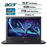 2018 Newest Flagship Acer Aspire 3 Laptop 15.6 inch HD Display, Intel Core i5-7200U 2.5 GHz, 6 GB DDR4 SDRAM Memory, 1 TB Hard Disk Drive, Intel HD Graphics 620, Windows 10