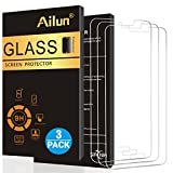 Ailun Screen Protector Compatible with Galaxy S5[3Pack],Tempered Glass,9H Hardness,2.5D Edge,Anti-Scratch,Case Friendly-Siania Retail Package