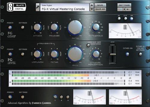 Mastering Processor (Slate Digital FG-X Virtual Mastering Processor)