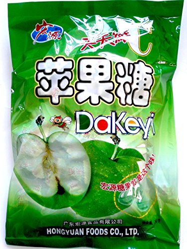 Hong Yuan Green Apple Classic Series Dakeyi Candy 12.3 Oz 350 G