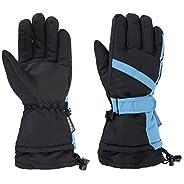 Men's Water Resistant Adjustable Winter Sportswear Snowboard / Ski Gloves