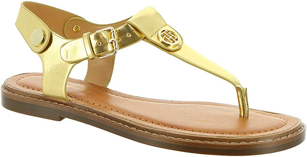Tommy Hilfiger Womens Bennia Flat Sandal