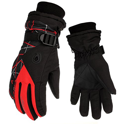 HEYFIT Waterproof Warm Skiing Gloves Windproof Non-slip Wear-resisting - Motorcycle Travel Gloves